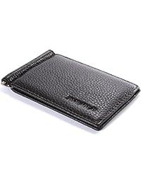 XCSOURCE® Ultra Mince Créatif Portefeuille En Cuir Amovible Porte-monnaie Pince à billets MT197