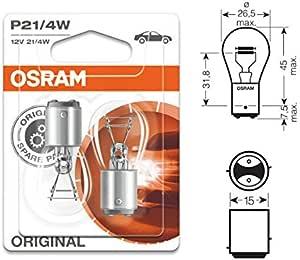 Osram Blister 2 Grundmetalllampe Fr Pkw 255w Baz15d A7225bli2 Auto
