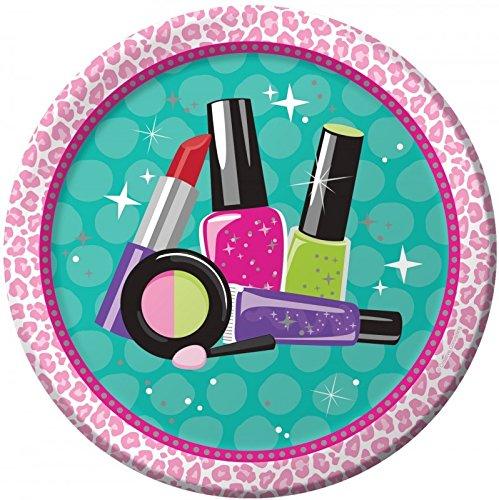 32 Teile Beauty Makeup Spa Topmodel Basis Party Deko Set für 8 Personen