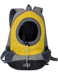 Phenovo Pet Dog Cat Puppy Carrier Backpack Soft Padded Sling Tote Shoulder Bag With Adjustable Hole Design, 4...