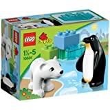 Lego Duplo Legoville - 10501 - Jeu de Construction - Les Animaux Polaires du Zoo