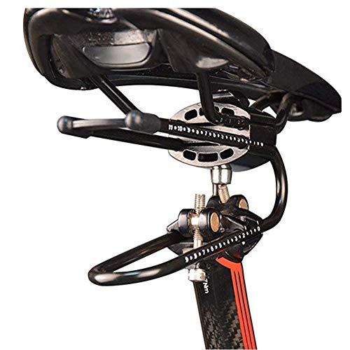 nakw88 Stoßdämpfer Rennrad Teile Universal Sitzfederung Verstellbarer Sitz Tragbarer Fahrradsattel Reiten Radfahren Federstahl Zubehör