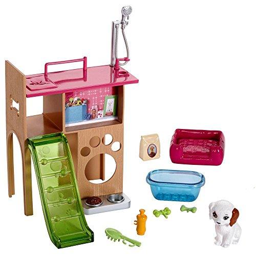 Barbie - Mobili Arredamento - Pet Corner - Bacino, Zona Gioco e Accessori