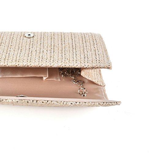 Premium Leather, Poschette giorno donna Beige