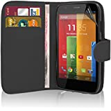 Motorola Moto G ( 1st Gen ) - Premium Quality Leather Book Wallet Style Case