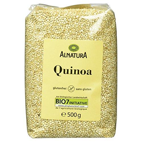 Preisvergleich Produktbild Alnatura Bio Quinoa,  glutenfrei,  3er Pack (3 x 500 g)