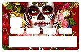 Deco-idees Stickers pour Carte bancaire, Catarina Calavera la Santa Muerte 2016 - Différenciez et décorez Votre Carte bancaire Suivant Vos Envies!! Facile à Poser, sans Bulles...