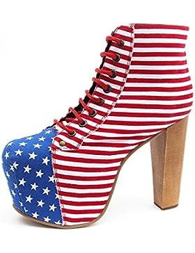 Jeffrey Campbell Lita Bandiera USA - Da donna