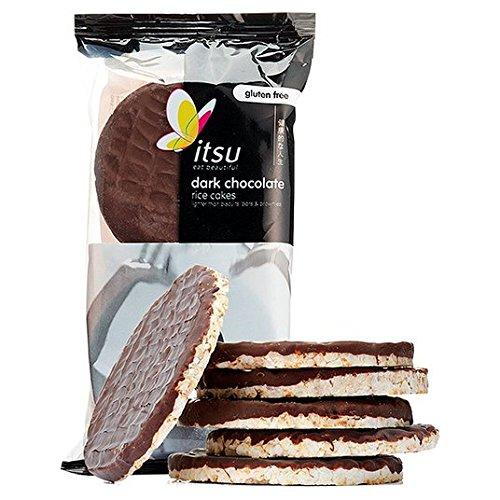 Itsu Dunkle Schokolade Reiskuchen 100g (Dunkle Schokolade-cracker)