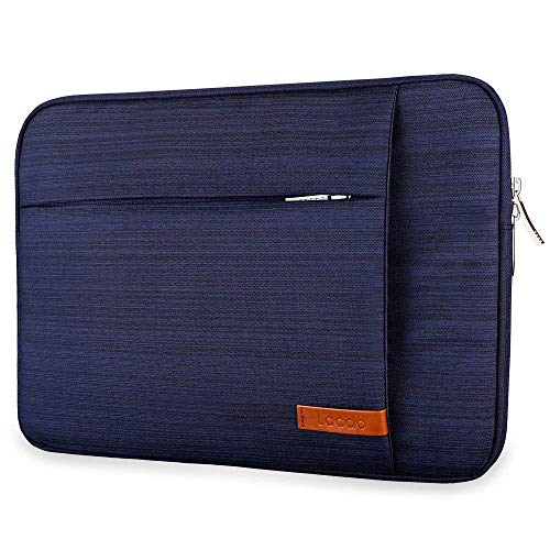 Lacdo 33,8 cm (13,3 Zoll) Laptophülle für MacBook Pro Retina 2012-2015 / MacBook Air 13/12,9 Zoll iPad Pro, Dell HP Acer ASUS, Samsung Lenovo Chromebook Notebook-Tasche Tablet, wasserabweisend, Blau