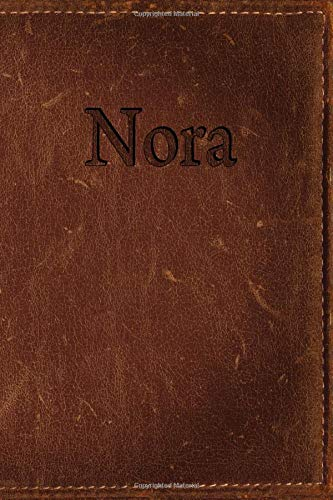 Nora: Simulated Leather Writing Journal por Rob Cole