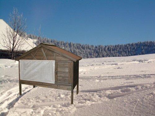 """Kerbl Kaninchenstall 84435 Nagerhaus """"4-Seasons"""", 127 x 66 x 110 cm - 10"""