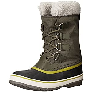 Sorel Winter Carnival, Women Warm Lining Mid-Calf Boots, Green (Peatmoss 214), 6 UK (39 EU)