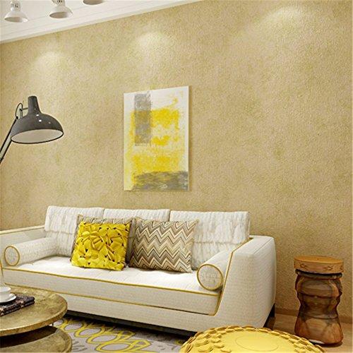 WanJiaMen'Shop Moderno Llano Simple Papel Tapiz no Tejidas Dormitorio salón sofá TV el Papel de la Pared de Fondo, C