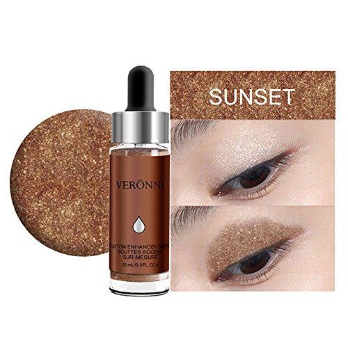 Best Sexy Gift! Beisoug 6 Colors Highlighter Makeup Concealer Glanz Gesichtsblendung Liquid Highlighter