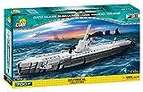 COBI- Gato Class Submarine-USS Wahoo / SS238, Colore Grigio/Nero, 4806