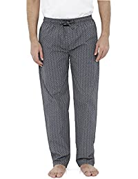 London Bee Men's Cotton Poplin Printed Pyjama/ Lounge Pant MPLB0106