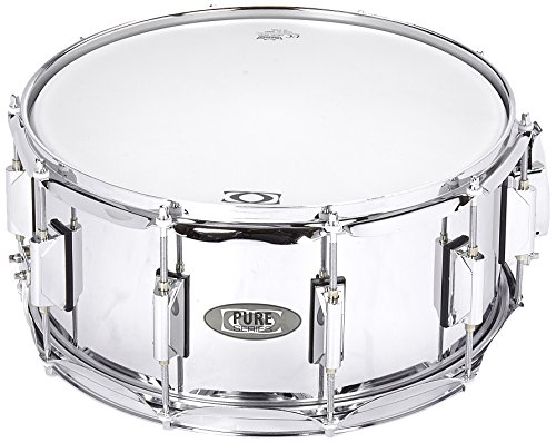 DC Snare by Pure Basix F801111 Snare Classic Stahl  14 x 6.5 inch