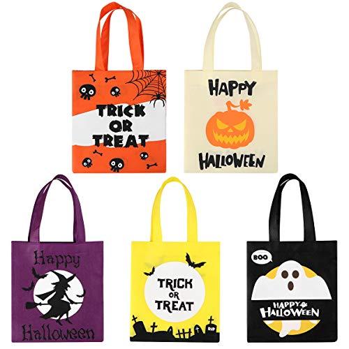 BESTonZON 20 STÜCKE Halloween Tragetaschen/Süßes oder Saures Taschen/Party Geschenk Taschen, Süßigkeiten Goodie Spielzeug Taschen für Kinder Halloween Party Favors (Halloween-taschen Sie Ihre Eigenen Machen)