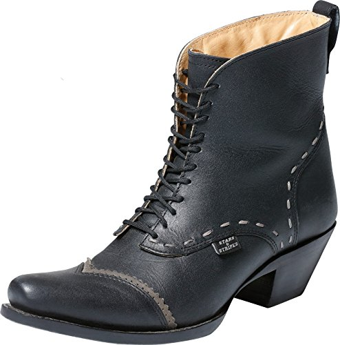 Stars & Stripes Damen Western-Boots »ASHLEY« Schwarz (41)
