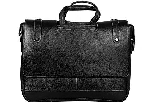 SCHARF Genuine Leather 15″ Portfolio Laptop CarryCase AMB83 image - Kerala Online Shopping
