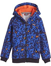 Puma Fun TD Graphic Hooded Jacket Sweatshirt, Child