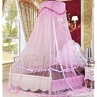 Sinotop Luxus Prinzessin Bett Net Canopy Runde Hoop Netting Moskitonetz Schlafzimmer-Dekor