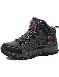 Moda Zapatos de Trekking Montaña Escalada Calzado Deportivo Mujere