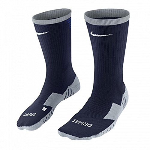 NIKE Herren Socken Team Matchfit Core Crew, 38-42 (Herstellergröße: 38-42), Mehrfarben (Noir/bleu/blanc)