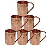 Best Moscow Mule Mugs - Drinkware Accessories Hammered Copper Moscow Mule Mug,Set of Review