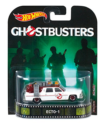 Hot Wheels ECTO-1 Ghostbusters - Coche para coche
