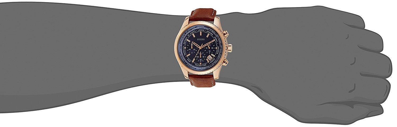51TbgfgOg1L - Guess Reloj con Correa de Piel, para Hombre W0500G1