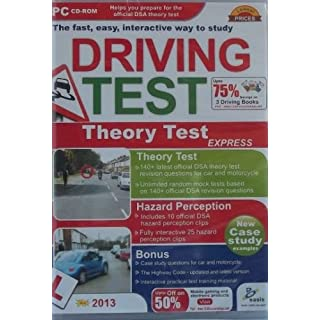 2013 latest edidition Car and Motorcycle Theory test interactive pc cd rom sold exclusively by Amatola-Kei