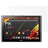atFolix Folie für Acer Iconia One 10 (B3-A40) Displayschutzfolie - 2 x FX-Antireflex-HD hochauflösende entspiegelnde Schutzfolie