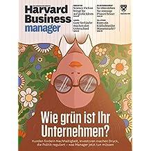 """Harvard Business Manager 9/2019 """"Wie grün ist ihr Unternehmen?"""""""