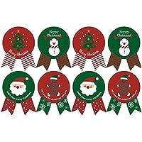 Etichette Per Regali Di Natale Da Stampare.Etichette Natale Etichette Adesive Etichette Ed Etichette Amazon It