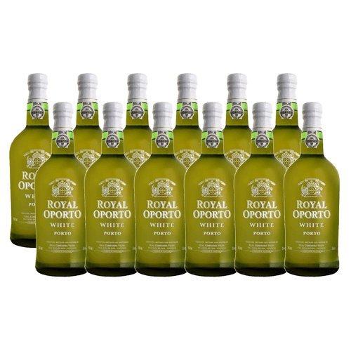 Portwein Royal Oporto White - Dessertwein - 12 Flaschen