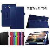 Samsung Galaxy Tab E 9.6 hülle,Mama Mouth Folding Ständer Hülle Case mit Standfunktion für 9.6