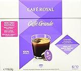 Café Royal Caffé Grande 48 Nescafé Dolce Gusto kompatible Kapseln (Intensität 6/10) 3er Pack (3 x 16 Kaffeekapseln)