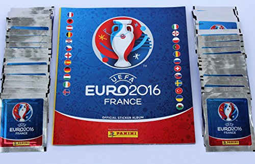 Panini UEFA EURO 2016 France - 100 Tüten Sticker + Leeralbum
