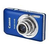 Canon IXUS 115 HS Digitalkamera (12 Megapixel, 4-fach opt. Zoom, 7,6 cm (3 Zoll) Display, Full HD, bildstabilisiert) blau