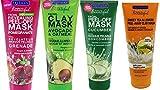 Freeman Facial Mask Bundle, 6 fl oz (Pack of 4) includes 1-Tube Sweet
