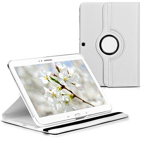 kwmobile Hülle kompatibel mit Samsung Galaxy Tab 3 10.1 P5200/P5210 - 360° Tablet Schutzhülle Cover Case