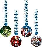 Marvel Avengers Assemble Hängedekoration, 4Stück