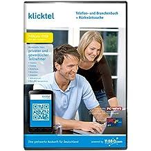 klickTel Telefon- und Branchenbuch inklusive Rückwärtssuche Frühjahr (2018)