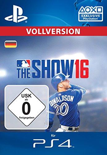 MLB The Show 16  [PS4 PSN Code - deutsches Konto] -