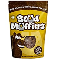 Stud Muffins Handmade Horse Treats, Pack of 45