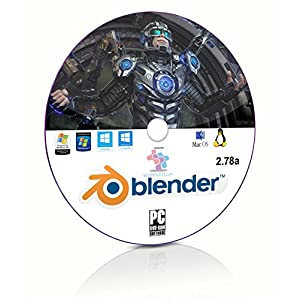 Blender 3D Graphics Design and Animation Studio Professional Software DVD