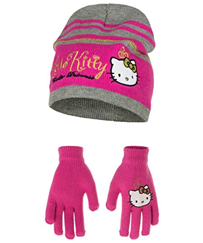da845574d Hello Kitty 2 Pcs Hat and Gloves Set One Size 4 to 9 Years Fuchsia - Buy  Online in Oman.   Apparel Products in Oman - See Prices, Reviews and Free  Delivery ...