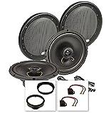tomzz Audio 4039-002 Lautsprecher Einbau-Set für Opel Astra F+G,Omega B,Vectra B,Zafira A+B,Fronttür